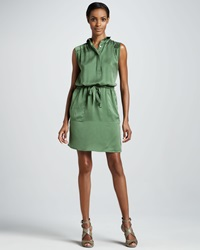 Raoul Box Pleat Shirtdress 42 10