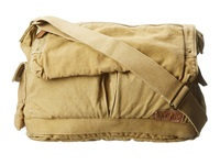 Bed Stu Hawkeye Messenger Bag Tan Messenger Bags