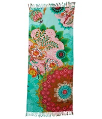 Desigual Anne Moss Scarves Green