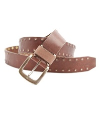 Wrangler Rivet Brown Studded Belt
