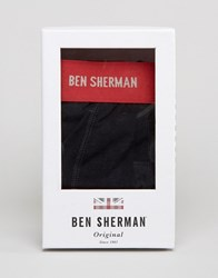 Ben Sherman Gift Box Red Trunk And Sock Set Red