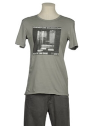 Messagerie Short Sleeve T Shirts Grey