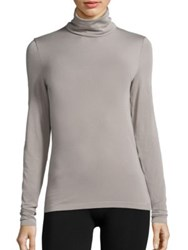 Wolford Turtleneck Pullover Silver Cloud