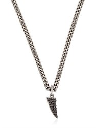Giuseppe Zanotti Rebel Angel Necklace With Pendant