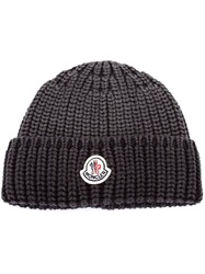 Moncler Knit Beaie Black