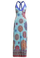 Smash Kirtan Maxi Dress Turquoise