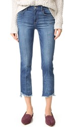 Siwy Becca High Waist Slim Straight Jeans American Beauty Oxford