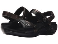 Aravon Katherine Ar Black Multi Women's Sandals