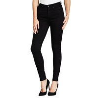 Barbour International Thruxton High Waist Super Skinny Jeans Stay Black
