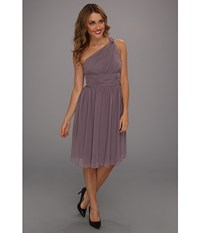 Donna Morgan Rhea One Shoulder Dress Grey Ridge Women's Dress Purple
