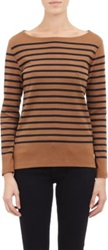Armor Lux Long Sleeve Beams T Shirt Brown