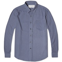 Classic Shirt Denim Blue Silk
