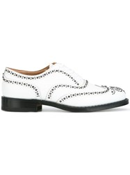 Church's Studded Oxfords White