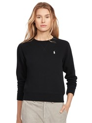 Polo Ralph Lauren Round Neck Fleece Sweatshirt Black