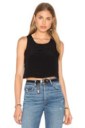 Lisakai Crop Tank Black