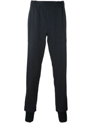 Stephan Schneider Pleated Cuffed Trousers Blue
