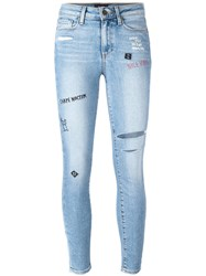 Paige Super Skinny Jeans Blue