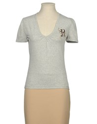 Replay Topwear Short Sleeve T Shirts Women Grey