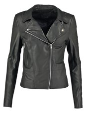Y.A.S Yas Yassophie Leather Jacket Black