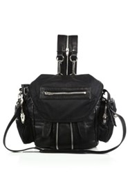 Alexander Wang Marti Mini Convertible Nylon And Leather Backpack