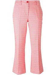 P.A.R.O.S.H. 'Pepita' Trousers Pink And Purple