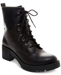 Madden Girl Madden Girl Eloisee Combat Booties Women's Shoes Black