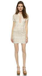 Stone Cold Fox Luke Dress White Tan