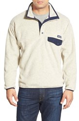 Men's Patagonia 'Synchilla Snap T' Pullover Oatmeal Heather