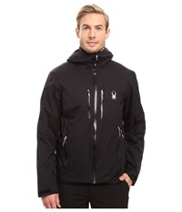 Spyder Pryme Jacket Black Black Men's Coat