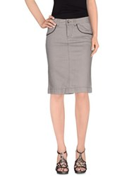 Murphy And Nye Denim Denim Skirts Women Grey