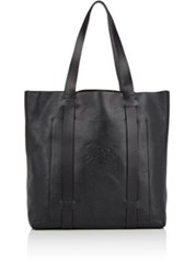 Ii Bisonte Men's Logo Tote Bag Black