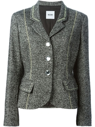 Moschino Cheap And Chic Fitted Blazer Grey