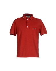 Project E Topwear Polo Shirts Men Red