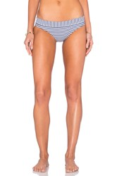Seafolly Riviera Stripe Banded Hipster Navy