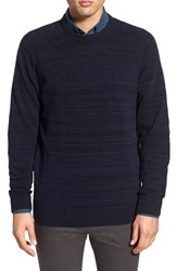 Men's Ben Sherman Crewneck Sweater Blue