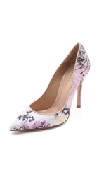 Mary Katrantzou Multicolored Pumps Pink