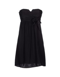 Alice And Trixie Short Dresses Black