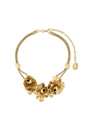 Lara Bohinc 'Roses' Necklace Metallic