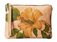 Patricia Nash Single Lily Cassini Wristlet Vanilla Cream Wristlet Handbags Multi