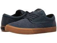Supra Chino Navy Suede Men's Skate Shoes Blue
