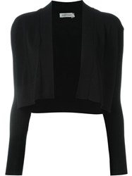 Sportmax Cropped Cardigan Black