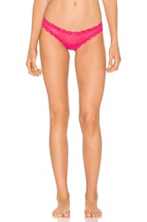 Eberjey Delirious Lace Thong 3 Pack Pink