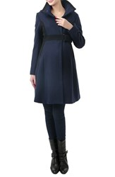 Kimi And Kai Women's 'Maddy' Colorblock Maternity Coat