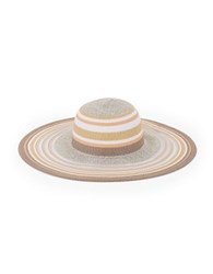 Bcbgeneration Striped Floppy Hat Natural