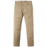 Incotex Garment Dyed Slim Fit Stretch Chino Brown