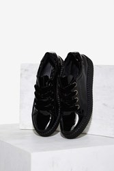 Sixtyseven Warwick Patent Creeper Sneaker Black