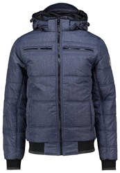 Blend Of America Light Jacket Dark Blue Mottled Blue