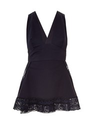 Stella Mccartney Amanda Broderie Anglaise Cross Back Top
