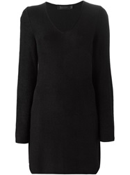Collection Knitted Dress Black