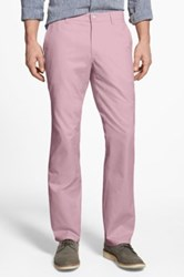 Bonobos Straight Fit Washed Chinos Pink
